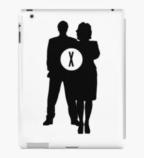 Skully and Mulder iPad Case/Skin