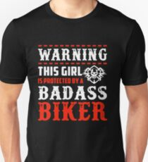 Protected By A Biker Unisex T-Shirt