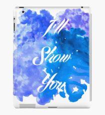 I'll Show You - Justin Bieber inspired White iPad Case/Skin