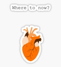 Where to Now? Sticker