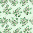 Gumnuts & Eucalyptus on Green by ThistleandFox