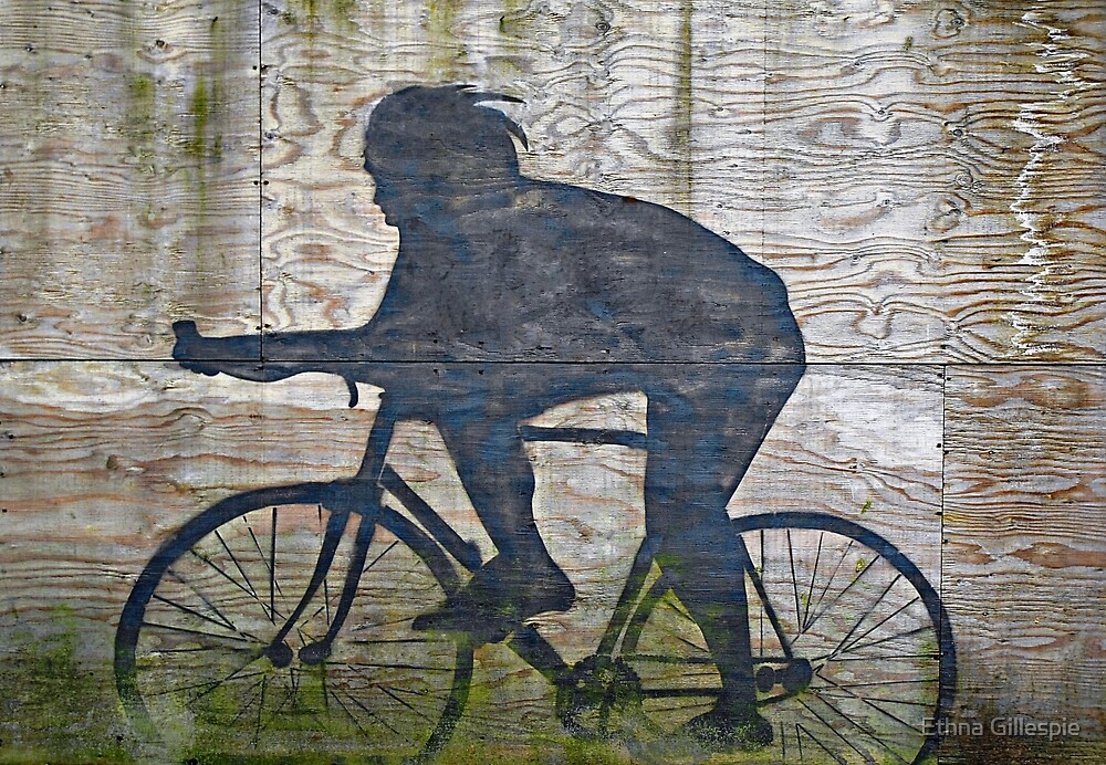 The Cyclist  by Ethna Gillespie