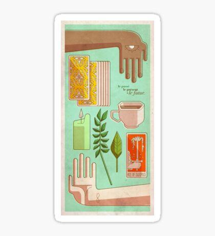 Tarot - Passé, présent et futur Sticker