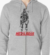Metal Gear Solid Zipped Hoodie