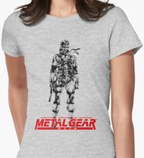 Metal Gear Solid Women's Fitted T-Shirt