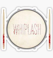 Whiplash film poster Sticker