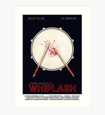 Whiplash film poster Art Print