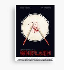 Lienzo Cartel de la película Whiplash
