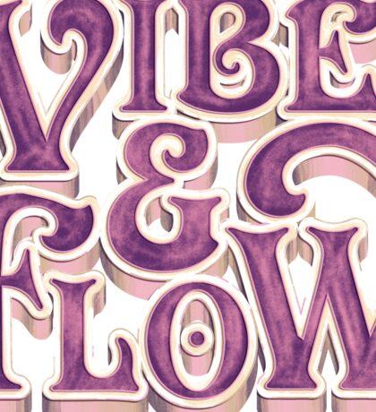 Vibe & Flow Sticker