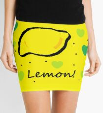 Good God LIZ LEMON Mini Skirt