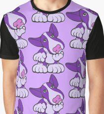 Pondering EBT Cartoon Purple  Graphic T-Shirt