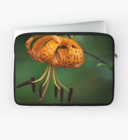 Tiger Lilly disguised as a Leopard Lilly Laptop Sleeve