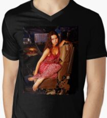 River Tam Mens V-Neck T-Shirt