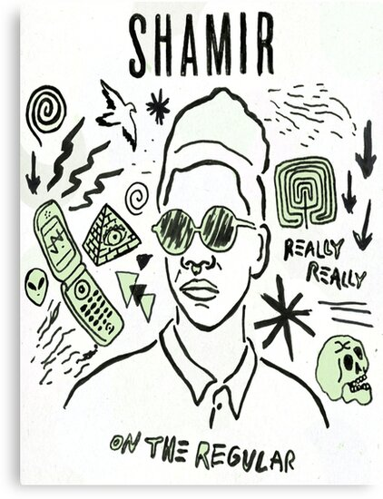 "Shamir 'On The Regular"" by callumhc"