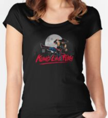 Kung Lao Fury Women's Fitted Scoop T-Shirt