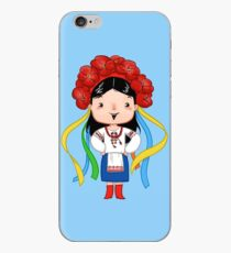 Ukrainian Girl iPhone Case