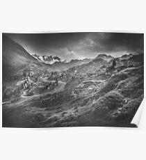 Mystic Alps III Poster