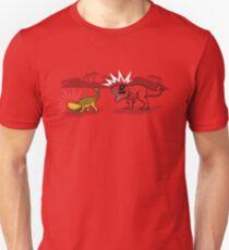 The Plight of the Tacosaurus Unisex T-Shirt