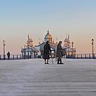 Stroll on the Pier by John Thurgood