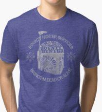 Hunter services. (Alternate) Tri-blend T-Shirt