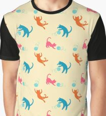 Playing cats Graphic T-Shirt