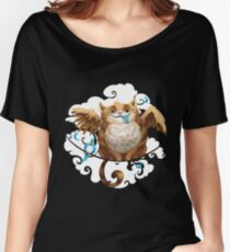 The Hungry Kitty Cat Women's Relaxed Fit T-Shirt