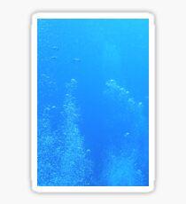 Bubble blues Sticker