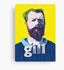 Eric Gill (type designer of Gill Sans) Canvas Print