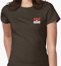 Pokeball Womens Fitted T-Shirt