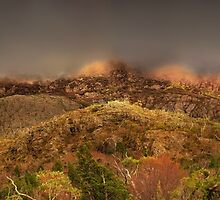 Cradle Mountain, east face by Kevin McGennan