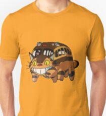 Camiseta ajustada Cat Bus Totoro