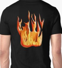 HELL FIRE, FIRE, BLAZE, BURN, IGNITE, FLAME, HEAT, LIGHT, WARMTH T-Shirt