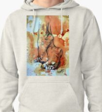 Barefoot in the rain Pullover Hoodie