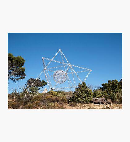 The SunStar Sculpture on Signal Hill, Cape Town Photographic Print