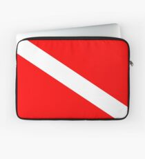 Diver Down Flag Laptop Sleeve
