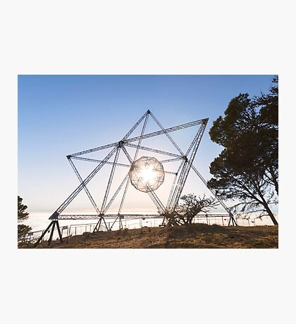 The Sun in the SunStar on Signal Hill Photographic Print