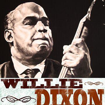 Willie Dixon by Kozmikmunki