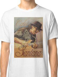 Carlos Santana (pastel drawing) Classic T-Shirt