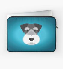 Miniature Schnauzer Laptop Sleeve