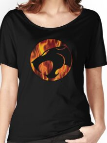 Fire cats Women's Relaxed Fit T-Shirt