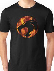 Fire cats Unisex T-Shirt