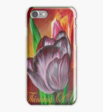Thinking Of You - Two Tulips iPhone Case/Skin