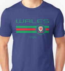 Euro 2016 Football - Wales (Home Red) Unisex T-Shirt