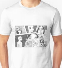 Comic Sketch. Unisex T-Shirt