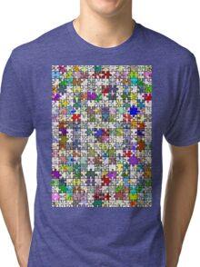 Jigsaw Junkie Tri-blend T-Shirt
