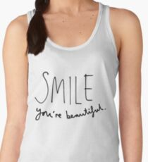 Smile, You're Beautiful Women's Tank Top