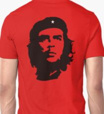Che, Guevara, Rebel, Revolution, Marxist, Revolutionary, Cuba, Power to the people! Black on Red T-Shirt