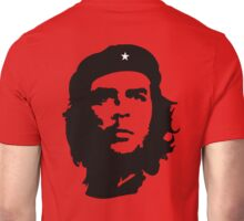 Che, Guevara, Rebel, Revolution, Marxist, Revolutionary, Cuba, Power to the people! Black on Red Unisex T-Shirt
