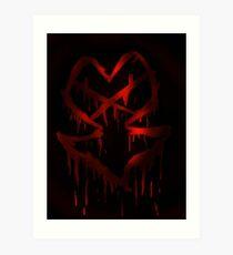 Heartless Insignia Art Print