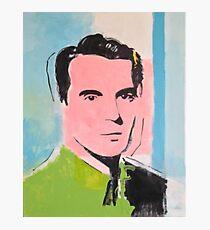 David Byrne Pop Art Malerei - von William Wright - Talking Heads Fotodruck